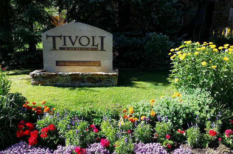 Tivoli Lodge sign